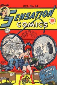 Sensation Comics Volume One issue 34