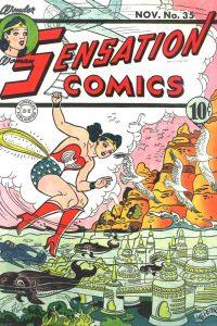 Sensation Comics Volume One Issue 35