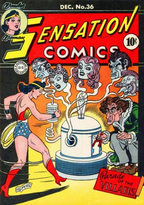 Sensation Comics Volume One Issue 36