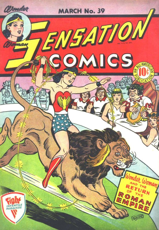 Sensation Comics Volume One Issue 39