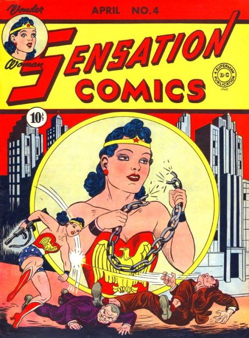Sensation Comics Volume One Issue 4