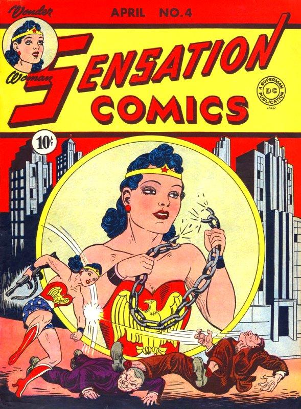 Sensation Comics Volume One Issue 4