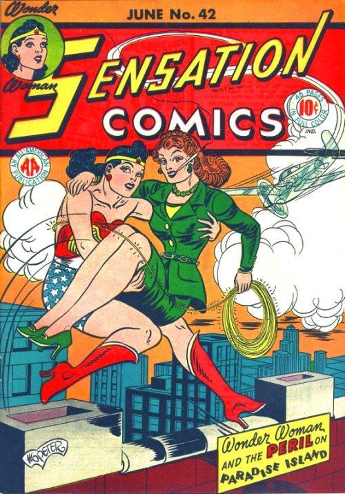 Sensation Comics Volume One Issue 42