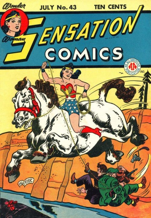 Sensation Comics Volume One Issue 43