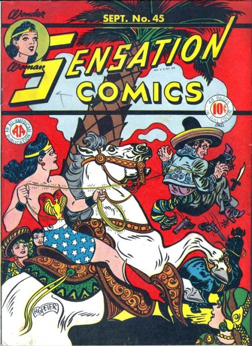 Sensation Comics Volume One Issue 45
