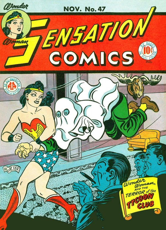 Sensation Comics Volume One Issue 47