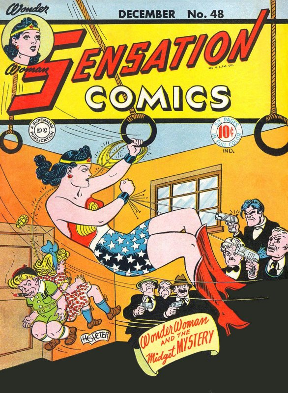 Sensation Comics Volume One issue 48