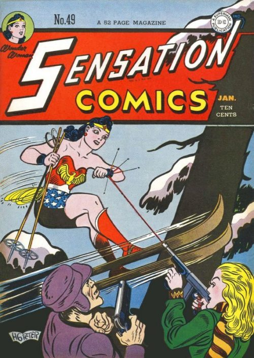 Sensation Comics Volume One issue 49