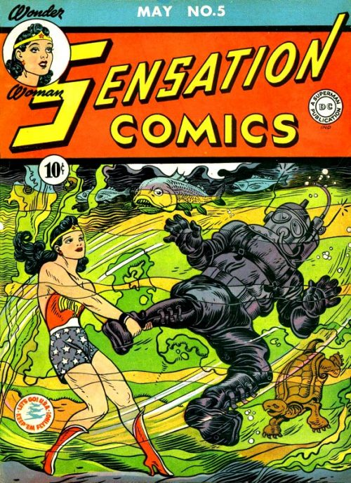Sensation Comics Volume One Issue 5