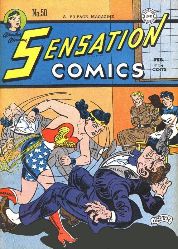 Sensation Comics Volume One Issue 50
