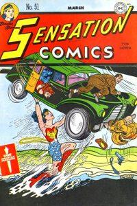 Sensation Comics Volume One Issue 51