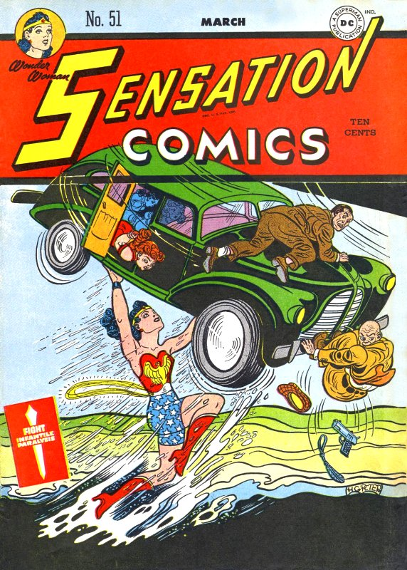 Sensation Comics Volume One Issue 51