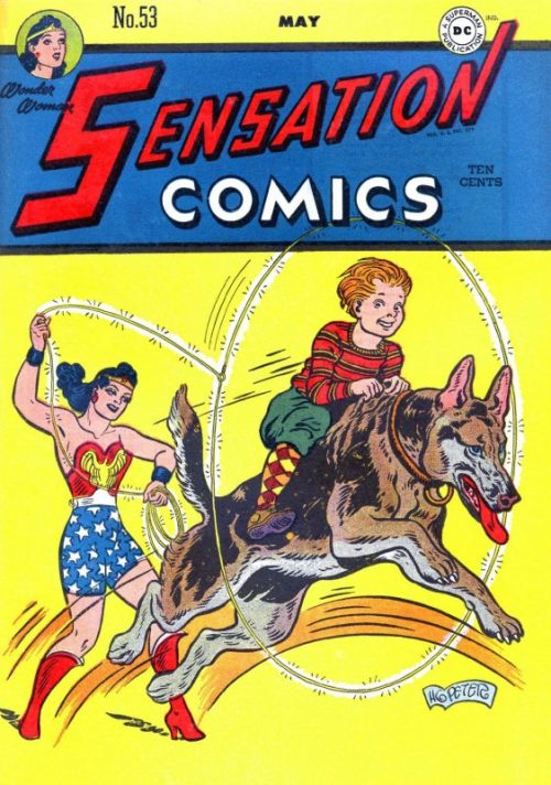 Sensation Comics Volume One Issue 53