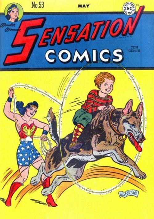 Sensation Comics Volume One Issue 53