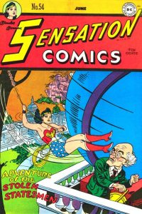 Sensation Comics Volume One issue 54