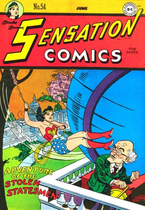 Sensation Comics Volume One issue 54