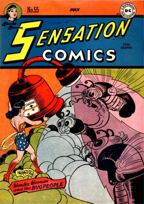 Sensation Comics Volume One issue 55