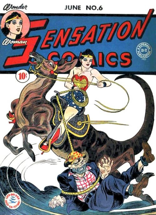 Sensation Comics Volume One Issue 6