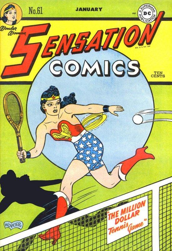 Sensation Comics Volume One issue 61