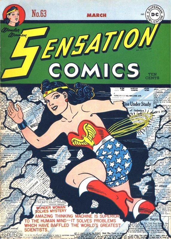 Sensation Comics Volume One issue 63