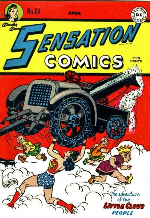 Sensation Comics Volume One Issue 64