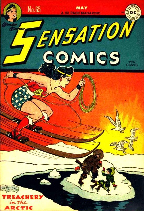 Sensation Comics Volume