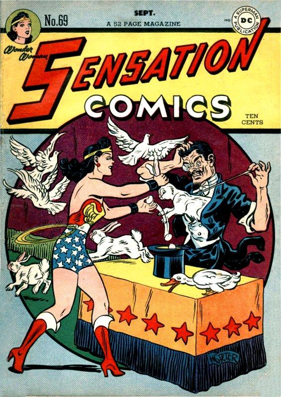 Sensation Comics Volume One issue 69