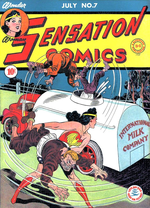 Sensation Comics Volume One Issue 7