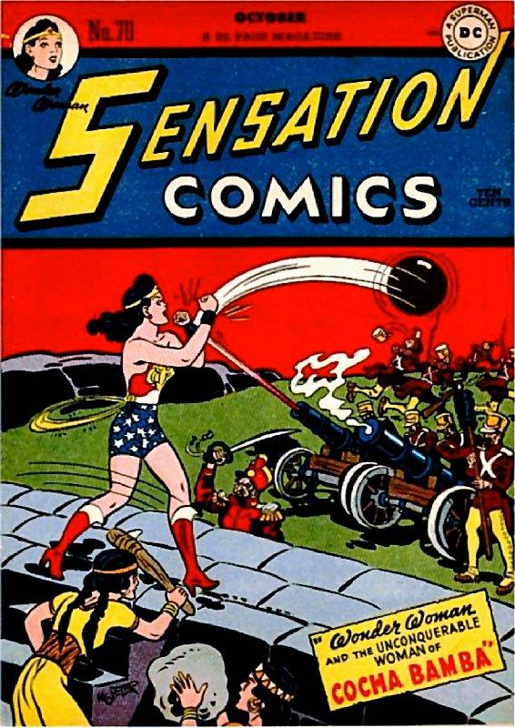 Sensation Comics Volume One Issue 70