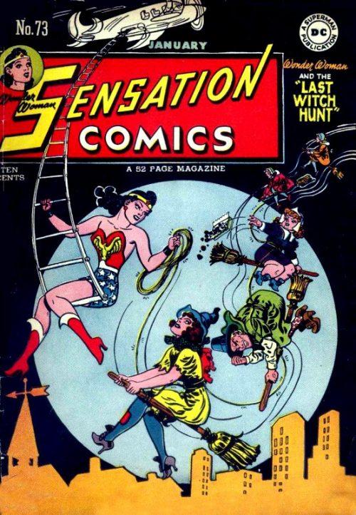 Sensation Comics Volume Issue 73