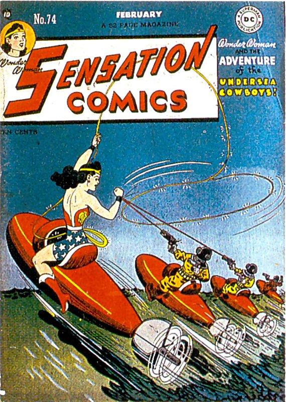 Sensation Comics Volume One Issue 74