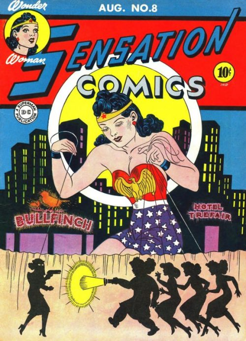 Sensation Comics Volume One Issue 8