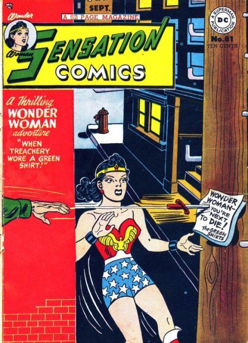 Sensation Comics Volume One Issue 81
