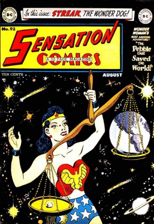 Sensation Comics Volume One Issue 92