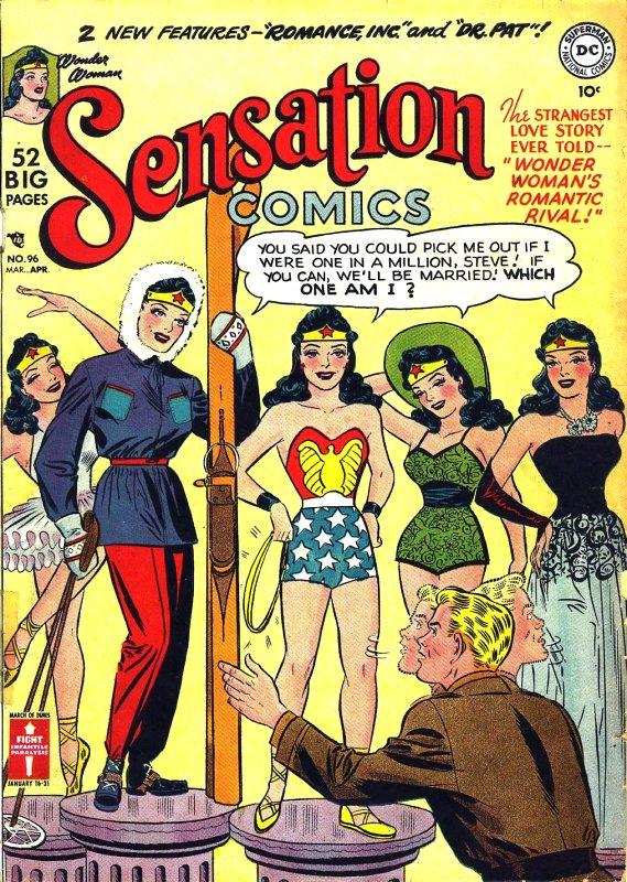 Sensation Comics Volume One issue 96