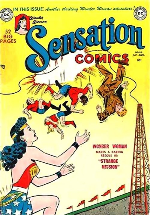 Sensation Comics Volume One issue 98