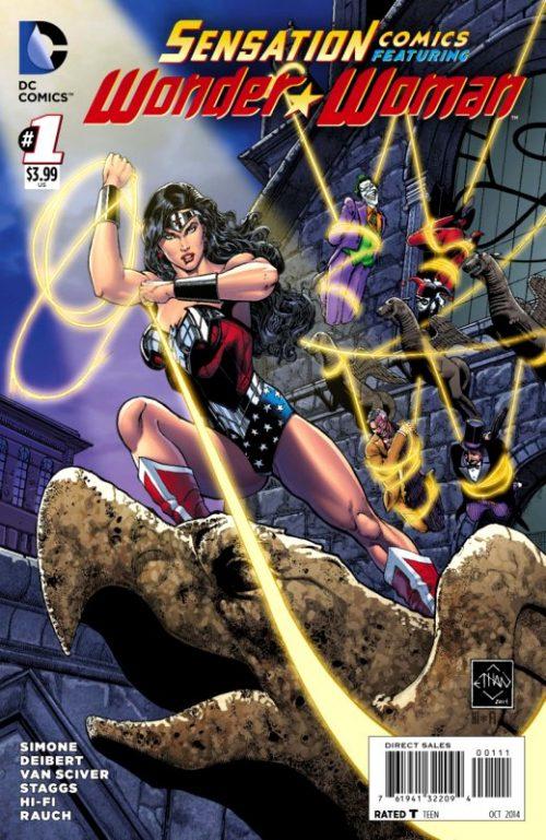 Sensation Comics Volume Two issue 1