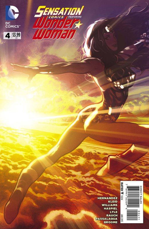 Sensation Comics Volume Two Issue 4