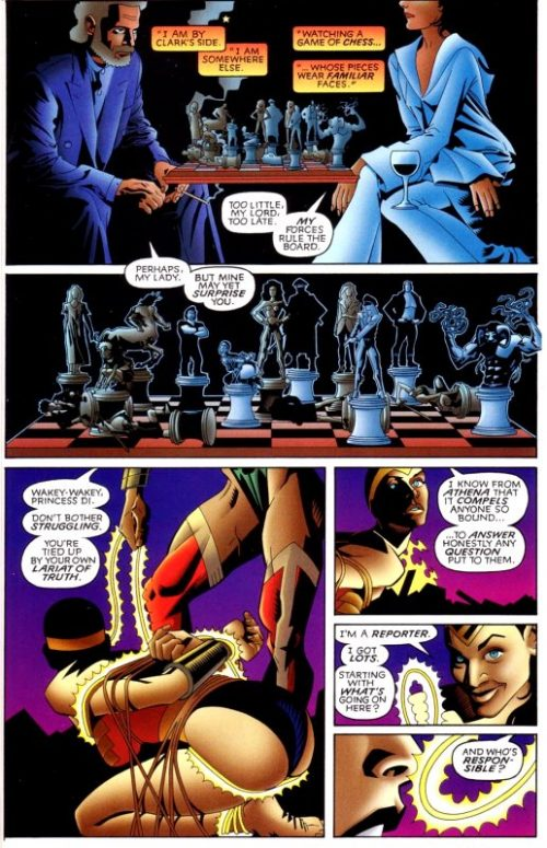 Superman Wonder Woman Whom Gods Destroy - 4 - Amazon Archives