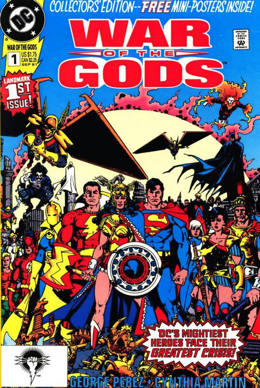 War of the Gods Issue 1
