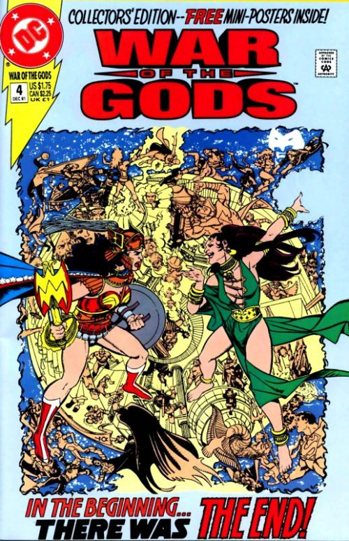 War of the Gods Issue 4