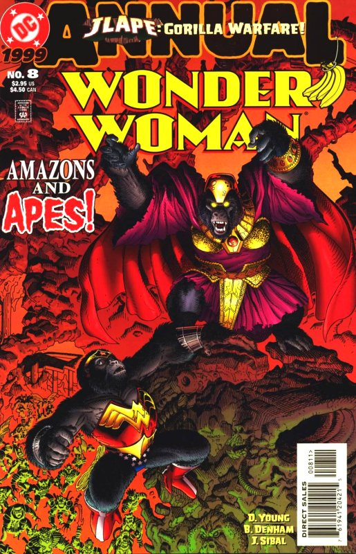 Wonder Woman Annual Volume 2 Issue 8