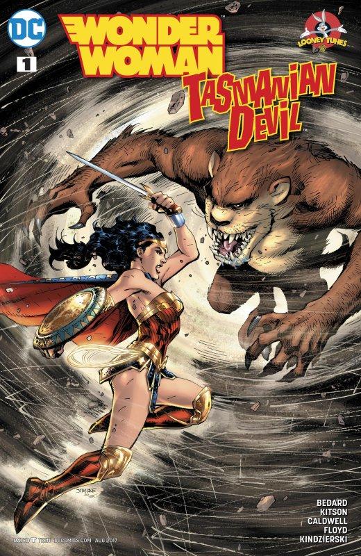Wonder Woman Tasmanian Devil Special issue 1