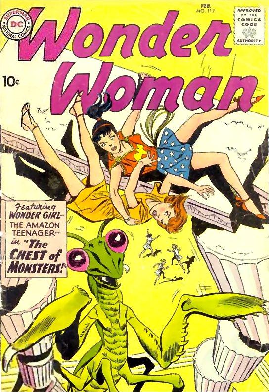 Wonder Woman Volume One Issue 112