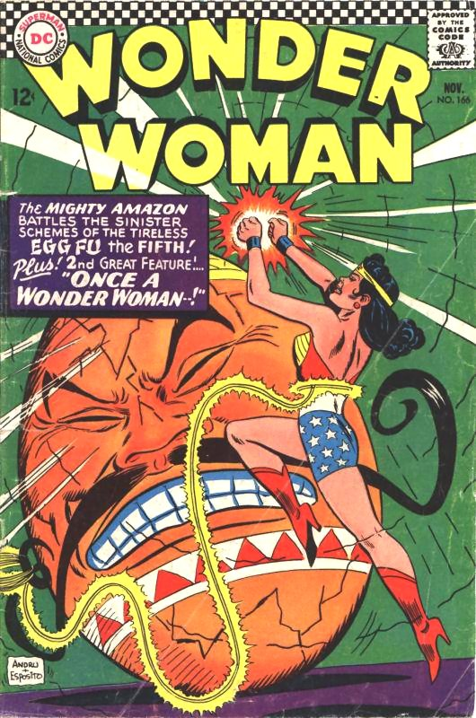 Wonder Woman Volume One Issue 166