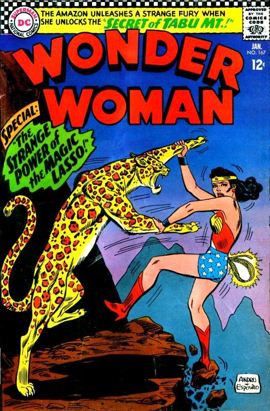 Wonder Woman Volume One Issue 167