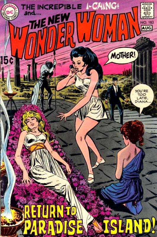 Wonder Woman Volume One Issue 183