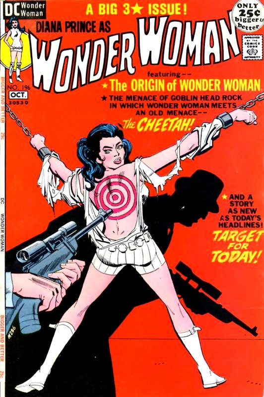 Wonder Woman Volume One issue 196