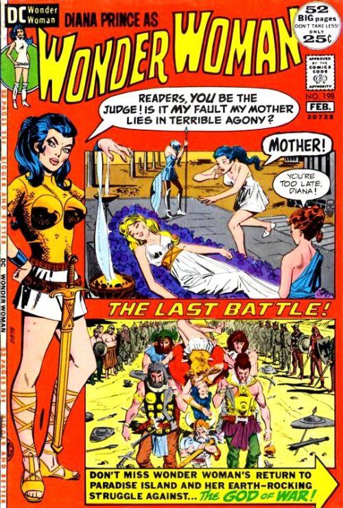Wonder Woman Volume One issue 198