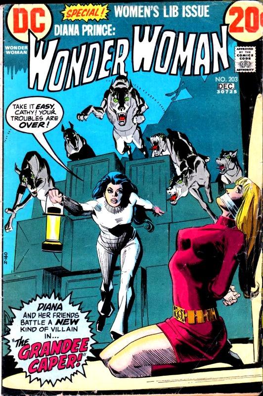 Wonder Woman Volume One issue 203